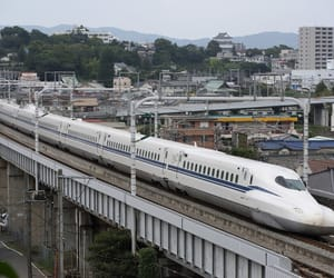 japan, olympics, and highspeedtrain image
