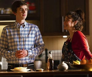 freddie highmore, the good doctor, and paige spara image