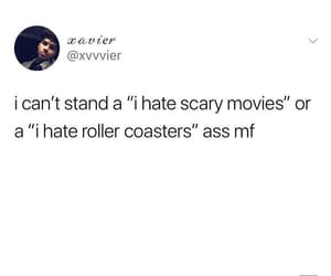 horror movie, post, and Roller Coaster image