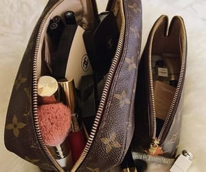 makeup, Louis Vuitton, and luxury image