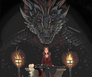 game of thrones and drogon image