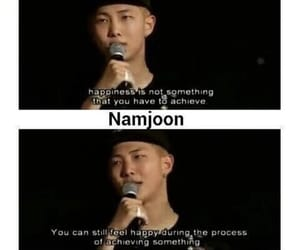 quotes, rm, and bts image