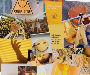 Collage, gelb, and tumblr image