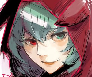 anime, eto, and tokyo ghoul image