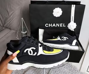 sneakers, chanel, and shoes image