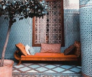 blue, morocco, and orange image