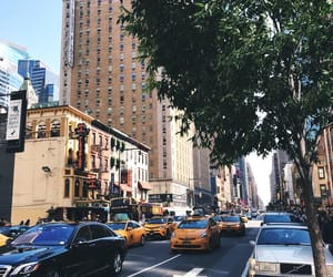 buildings, cities, and manhattan image