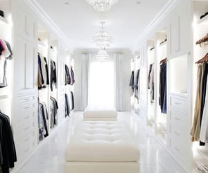closet, luxury, and house image