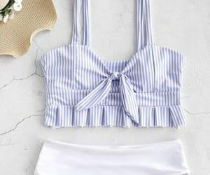 azul, blanco, and rayas image