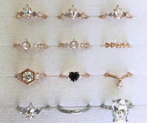 accessories, beauty, and rings image