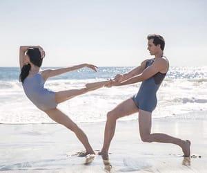 aesthetics, arabesque, and beach image