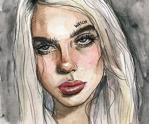 art and billie eilish image