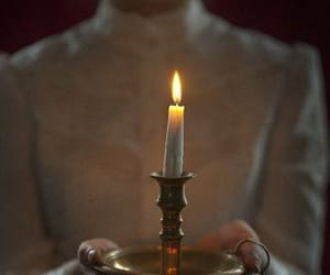 candle, light, and victorian image