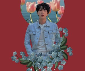 aesthetic, jin, and red image