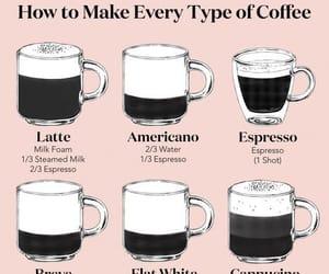 coffee, latte, and americano image