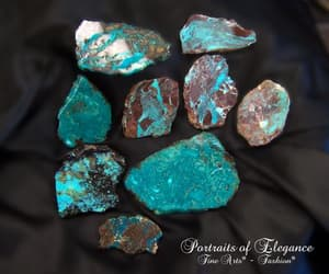 ithaca peak turquoise, bisbee blue, and portraits of elegance image
