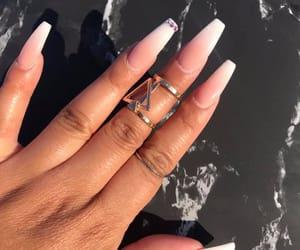 bracelets, diamonds, and nails image