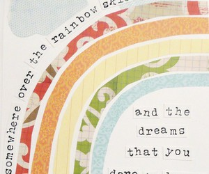 quotes, Dream, and rainbow image
