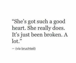 broken, quotes, and heart image