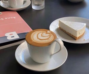coffee, cake, and cafe image