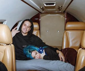 couple, g-eazy, and goals image
