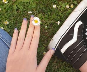 flower, girl, and vans image