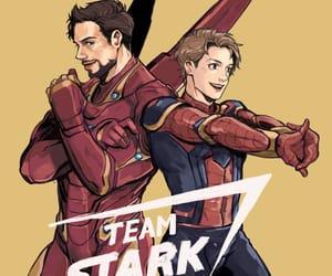 Marvel and team stark image