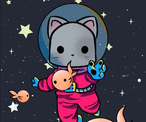 background, cat, and kawaii image