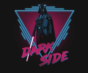 dark side and darth vader image