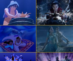 aladdin, cartoon, and disney image