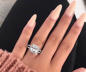 beauty, nails, and ring image
