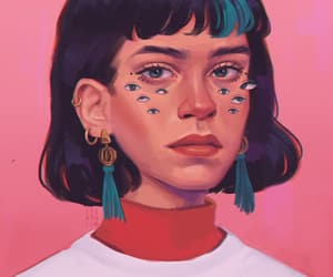 art, digitalart, and draw image