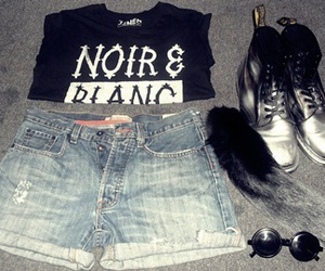 black, swag, and doc martens image