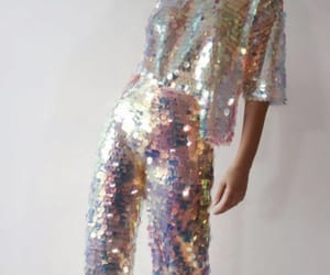 fashion, holographic, and holo image