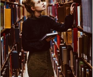 bibliophile, style, and books image
