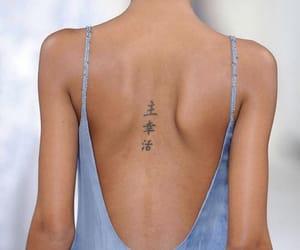 tattoo, fashion, and back image