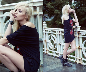 blond, photography, and fashion image