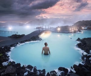 blue lagoon and travel image