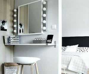 decorations, mirror, and tumblr image