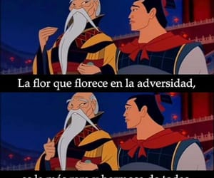 disney, flores, and frase image