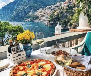 pizza, italy, and food image