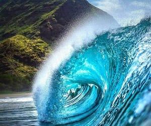 beach, hawaii, and photography image