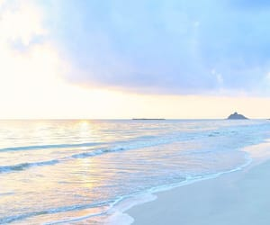 beach, blue, and colors image