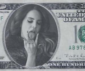 money, dollar, and lana del rey image