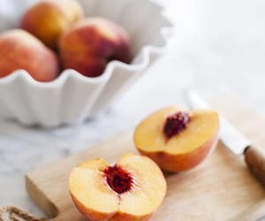 peach, delicious, and fruit image