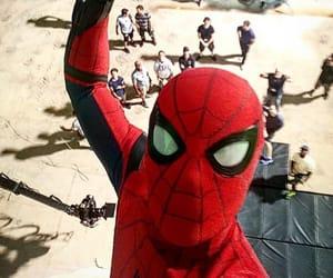 spiderman, tom holland, and Marvel image