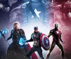 chris evans, iron man, and Marvel image