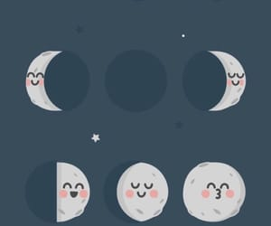 moon, moon phases, and wallpaper image