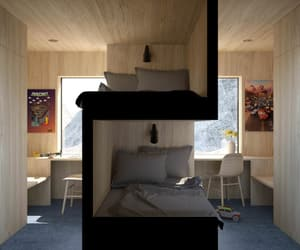 bedroom, twin, and creative image