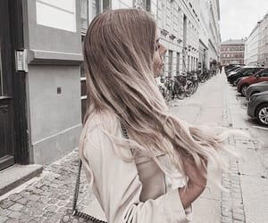cities, girl, and hair image